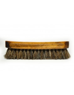 PROJECT F ® - Leather brush - horse hair-3