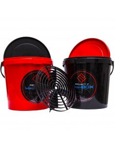 PROJECT F ® - WashBOX - red bucket 12,5l-1