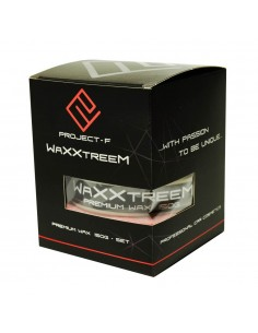 PROJECT F ® - WaXXtreem - Tuhý vosk na auto-sada krabica spredu 150g
