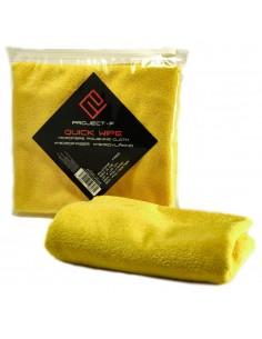 PROJECT F ® - Quick Wipe - Microfiber Cloth - Size: 40x40cm - Yellow