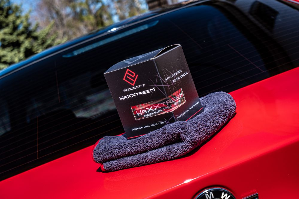 Waxxtreem WAX and microfiber