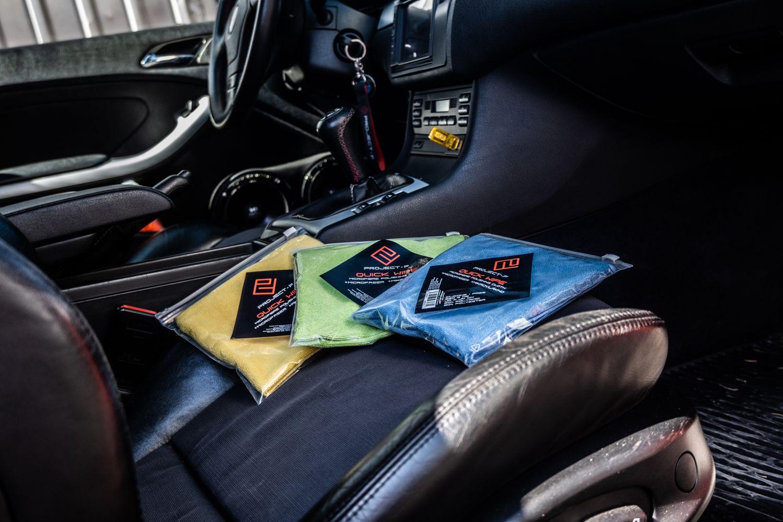 Project F - microfiber cloth Quick WIPE BMW E46