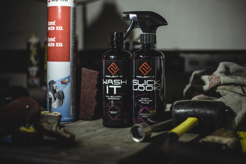 PROJECT F ® - WashIT - PH Neutral autošampón Slicklook